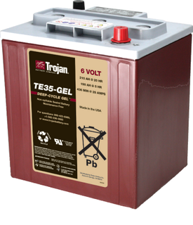 TROJAN GEL DEEP CYLE BATTERIES