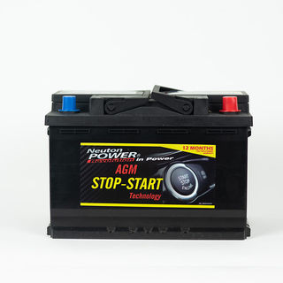 CAR Batteries AGM, EV, Start-stop, I-start