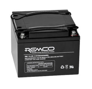 12v 28a/h Battery REMCO (FREE DELIVERY, no Rural tickets)