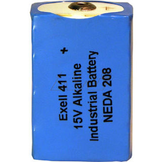 411 15v battery Alkaline