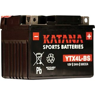 Motorcycle Battery YTX4L-BS 12v KATANA