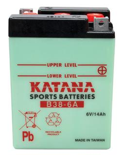 B38-6A KATANA Motorcycle battery 6v