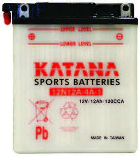12N12A-4A-1 KATANA Motorcycle Battery