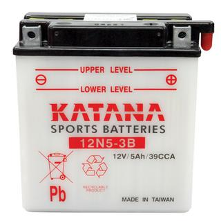 12N5-3B KATANA Motorcycle Battery