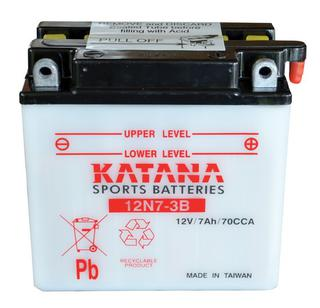 12N7-3B KATANA Motorcycle Battery