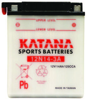 12N14-3A KATANA Motorcycle Battery