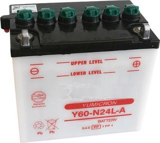 Y60-N24L-A KATANA Motorcycle Battery