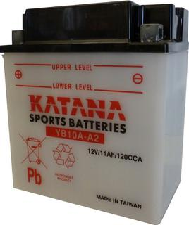 YB10A-A2 KATANA Motorcycle Battery 12v