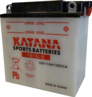 YB10L-B KATANA Motorcycle Battery 12v