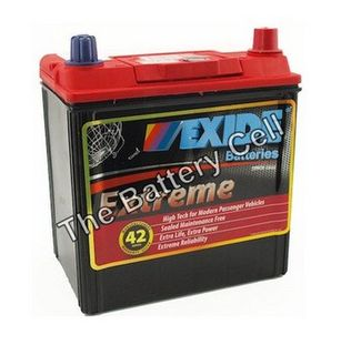 X40CMF 12v 400cca EXIDE EXTREME CAR BATTERY (FREE DELIVERY, no Rural tickets)
