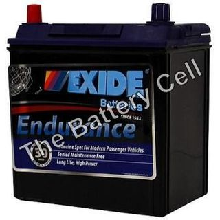 60DMF 12v 370cca EXIDE ENDURANCE CAR BATTERY (FREE DELIVERY, no Rural tickets)