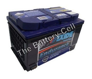 DIN66HMF 12v 720cca EXIDE ENDURANT BATTERY (FREE DELIVERY, no Rural tickets)