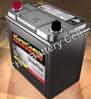 SMFNS60RS SuperCharge Silver Car Battery