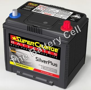 SMF55D23L SuperCharge Silver Battery (FREE DELIVERY, no Rural tickets)