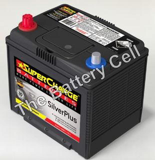 SMF55D23R SuperCharge Silver Battery (FREE DELIVERY, no Rural tickets)