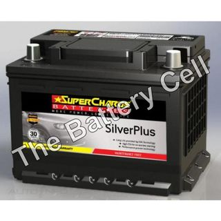 SMF53L SuperCharge Silver Battery (FREE DELIVERY, no Rural tickets)