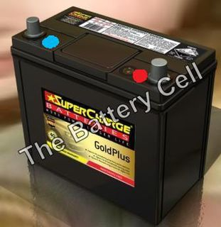 MF55B24LS SuperCharge GOLD 12V 490CCA Car Battery (FREE DELIVERY, no Rural tickets)