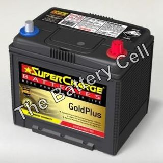 MF75D23L SuperCharge GOLD 12V 630CCA Battery (FREE DELIVERY, no Rural tickets)
