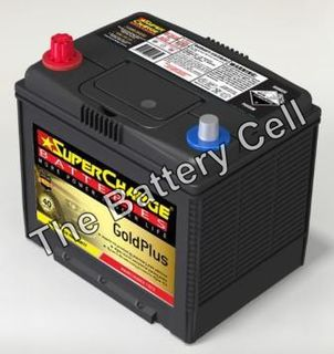 MF75D23R SuperCharge GOLD 12V 630CCA Battery (FREE DELIVERY, no Rural tickets)