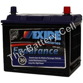 55D23CMF 12v 600cca EXIDE ENDURANCE BATTERY (FREE DELIVERY, no Rural tickets)