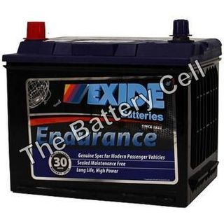 55D23DMF 12v 600cca EXIDE ENDURANCE BATTERY (FREE DELIVERY, no Rural tickets)