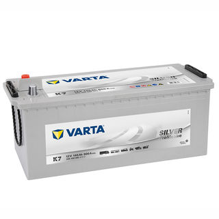 Varta Commercial Battery Promotive Silver K7, N120 Euro size (DIN135D) (FREE DELIVERY, no Rural tickets)