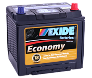 LM50C EXIDE ECONOMY BATTERY
