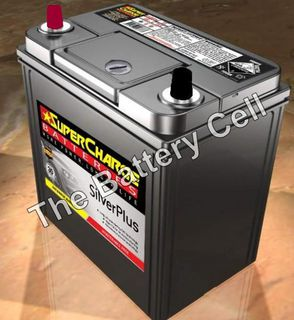 SMFNS40ZX SuperCharge Silver Car Battery