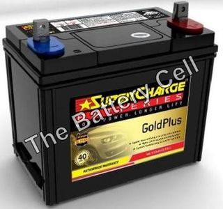 MF43 12v 410cca SuperCharge GOLD Car Battery (FREE DELIVERY, no Rural tickets)