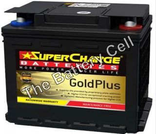 MF55 SuperCharge GOLD 12V 590CCA Battery (FREE DELIVERY, no Rural tickets)