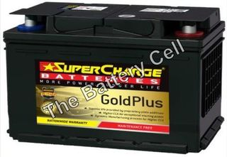 MF66 SuperCharge GOLD 12V 720CCA Battery (FREE DELIVERY, no Rural tickets)