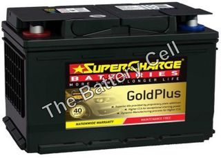 MF66R SuperCharge GOLD 12v 720CCA Battery (FREE DELIVERY, no Rural tickets)
