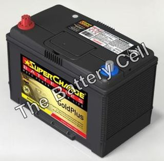 MF80D26R AUTO/COMMERCIAL SuperCharge GOLD Battery (NS70)