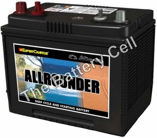 MRV50 Supercharge Dual purpose Battery 12v 650cca, 80ah
