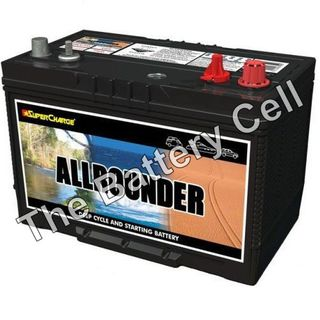 MRV70L Supercharge Dual purpose Battery 12v 760cca, 105ah