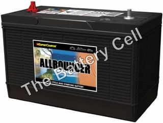 MRV87 Supercharge Dual purpose Battery 12v 825cca, 120ah