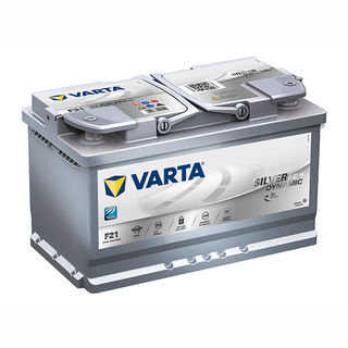 VARTA AGM/SILVER 12V Car battery 580 901 080, F21, DIN77H