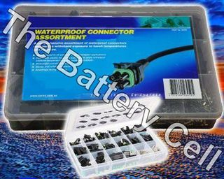 Waterproof Wire connectors Assortment -over 200pce