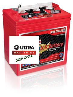 6V 251Ah US Battery Company Deep Cycle battery (FREE DELIVERY, no Rural tickets)