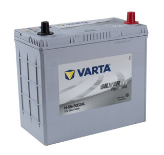 VARTA EFB 12v Car battery EV, SS, HP and Cycle, MF55LEFB/NS60PPL