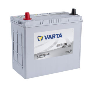 VARTA EFB 12v Car battery EV, SS, HP and Cycle, MF55REFB/NS60PP
