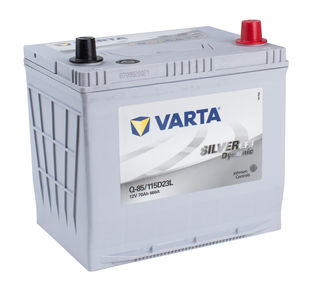 VARTA EFB 12v Car battery EV, SS, HP and Cycle, Q85LEFB/55D23L