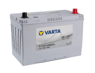 VARTA EFB 12v Car battery EV, SS, HP and Cycle, T110LEFB/95D31L/N70ZZL