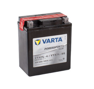 YTX7L-4 VARTA Powersports AGM Dry-cell Motorcycle battery 12v