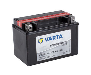 YTX9-4 VARTA Powersports AGM Dry-cell Motorcycle battery 12v