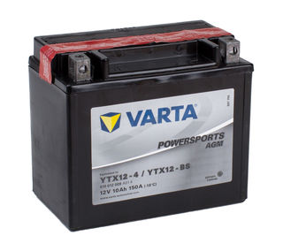 YTX12-4 VARTA Powersports AGM Dry-cell Motorcycle battery 12v