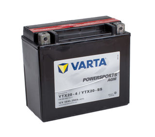 YTX20L-4 VARTA Powersports AGM Dry-cell Motorcycle battery 12v