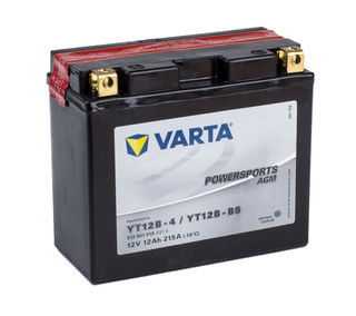 YT12B-4 VARTA Powersports AGM Dry-cell Motorcycle battery 12v