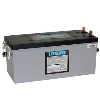 GPL-4DL 12V 210A/H Lifeline Battery (N150 size)