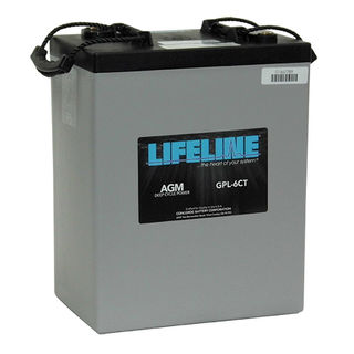 GPL-6CT 6V 300A/H Lifeline Battery